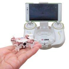 โดรน จิ๋ว Drone  รุ่น Cheerson  Cx10wd-Tx Pink มีรีโมทให้ในกล่อง ใช้ได้ทั้งสองฟังชั่นคือ รีโมทและ สมาทโฟน (สมาทโฟน ควบคุมโดรน ผ่าน App).