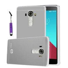 ซื้อ Oem Aluminum Metal Case For Lg G4 With Hd Screen Protector Silver Red Intl ออนไลน์ จีน