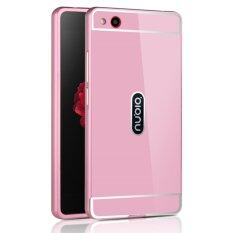 ราคา Oem Aluminum Metal Case For Zte Nubia Z9 Max With Hd Screen Protector Pink Gold Intl ออนไลน์