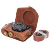 ราคา Oem Camera Case For Canon G7X Ii High Class Pu Leather Full Cover Removable Base With Shoulder Strap Coffee Color Intl เป็นต้นฉบับ