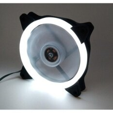 OEM FAN CASE 120MM R-12025 Circular White LED