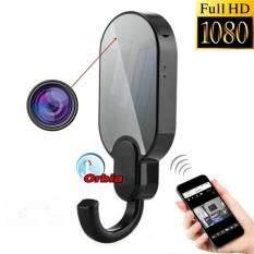 OEM WiFi กล้องแอบถ่าย ในรูปทรงที่่แขวน ดูผ่านมือถือ รุ่นHook Camera IP Full HD 1080P - ( สีดำ)