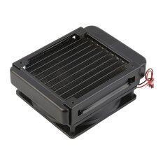 โปรโมชั่น Oh 120Mm Water Cooling Cpu Cooler Row Heat Exchanger Radiator With Fan For Pc Unbranded Generic