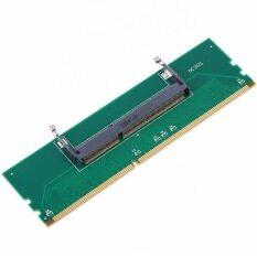 ซื้อ โอ้ 1ชิ้น Ddr3 โน้ตบุ๊ค So Dimm Ram ตัวเชื่อมต่อกับหน่วยความจำคอมพิวเตอร์อะแดปเตอร์ Ddr3 ใหม่ ถูก