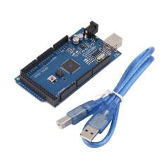ราคา โอ้ Mega 2560 R3 Rev3 Atmega2560 16Au สายยูเอสบีเข้ากันได้บอร์ดสำหรับ Arduino ที่สุด