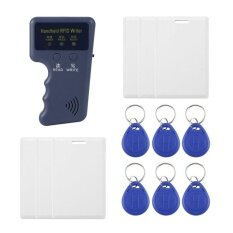ซื้อ Oh Safety Handheld 125Khz Rfid Copier Writer Rfid Duplicator Em Id Copier Blue 6 Buckles Intl จีน