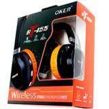 ซื้อ Oker หูฟังบลูทูธ แบบครอบไร้สาย รุ่น Bt155 สีดำ ส้ม Oker ออนไลน์