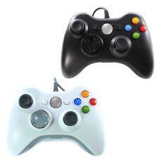 OKER จอยเกมส์ 2set Xbox Joy Stick 360 รุ่น X36 (สีดำ/สีขาว)