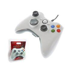 OKER จอยเกมส์ Xbox 360 รุ่น X36 (white)