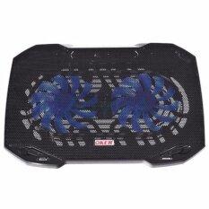 ซื้อ Oker Cooler Pad พัดลมระบายความร้อนโน๊ตบุ๊ค Hvc 393 สีดำ ถูก