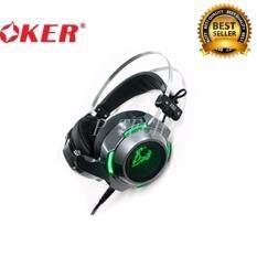 ราคา Oker Ganing Headset หูฟังเกมมิ่ง รุ่น X92 สีดำ Oker ออนไลน์