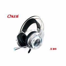 ขาย Oker Headphone Mic หูฟัง รุ่น X98 Oker เป็นต้นฉบับ