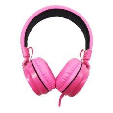 ราคา Oker หูฟังแบบครอบหู รุ่น Sm 952 สีชมพู เป็นต้นฉบับ Oker
