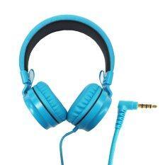ซื้อ Oker หูฟังแบบครอบหู สำหรับมือถือ คอม รุ่น Sm 952 Blue ออนไลน์ ถูก