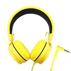 ราคา Oker หูฟังแบบครอบหู สำหรับมือถือ คอม รุ่น Sm 952 Yellow ถูก