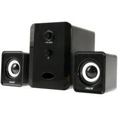 ราคา Oker ลำโพง Usb Multimedia Speaker Micro 2 1 650W Sp 835 สีดำ ที่สุด