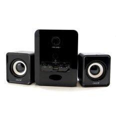 ซื้อ Oker ลำโพงบลูทูธ Bluetooth Multimedia Desktop Speaker Micro 2 1 650W Sp 525 สีดำ ถูก ไทย