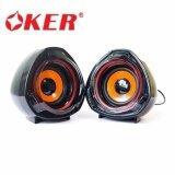 ส่วนลด Oker ลำโพงคอม M3 Speaker Usb 650W สีดำ Black Thailand
