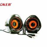 ซื้อ Oker ลำโพงคอม M3 Speaker Usb 650W Black Oker ถูก