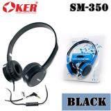 ซื้อ Oker หูฟัง On Ear Headphones With In Line Mic รุ่น Sm 350 สีดำ Oker