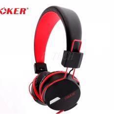 ขาย ซื้อ Oker หูฟังแบบครอบหู สำหรับมือถือ คอม รุ่น Sm 852 สีแดง กรุงเทพมหานคร