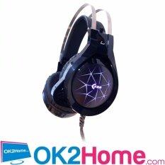 ราคา Oker X96 หูฟังเกมมิ่ง Hi Fi Stereogaming Headset 7 Color Led สีดำ เป็นต้นฉบับ