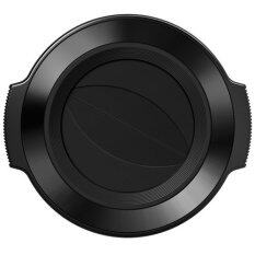 Olympus Lc 37C Auto Open Lens Cap Black For M Zuiko Digital Ed 14 42Mm F 3 5 5 6 Ez Lens เป็นต้นฉบับ
