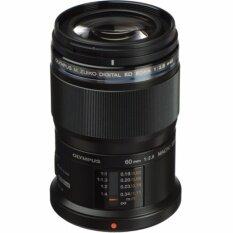 ซื้อ Olympus M Zuiko Digital Ed 60Mm F 2 8 Macro Lens Black Intl Olympus เป็นต้นฉบับ
