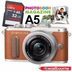 ซื้อ Olympus Pen E Pl8 Kit Lens 14 42Mm 16 1Mp สีน้ำตาล Sd Card 32 Gb มูลค่า890บาท คูปองทำPhotobook Magazine ขนาดA5 1ใบ มูลค่า750บาท Olympus เป็นต้นฉบับ