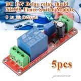ราคา โมดูลดีเลย์ 5X 12V Delay Timer Ne555 Monostable Switch Relay Module Adjustable Arduino ฮ่องกง