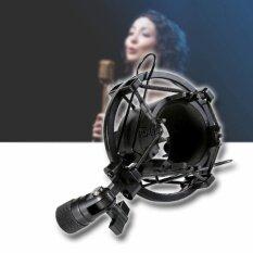 ส่วนลด Omg Black Microphone Mic Shock Mount อุปกรณ์ป้องกันเสียงรบกวน ป้องกันการสั่นสะเทือน ขณะอัดเสียง รุ่น Bmh2100 St Omg