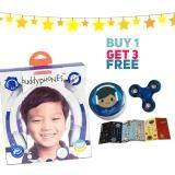 ขาย หูฟังสำหรับเด็ก Onanoff Buddyphones Explore Foldable Blue Buddyphones ถูก