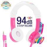ราคา หูฟังสำหรับเด็ก Onanoff Buddyphones Inflight Pink ใน กรุงเทพมหานคร