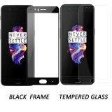 โปรโมชั่น Oneplus 5 Screen Protector Glass 2 Pack Geto 33Mm Ultra Thin 2 5D Round Edges 9H Hardness Hd Clear Tempered Glass Screen Protector For Oneplus 5 Black Frame Glass Intl Unbranded Generic