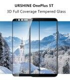 ซื้อ Oneplus 5T Glass Oneplus 5T Tempered Glass Film Urshine 1 5T Full Cover Screen Protector Glass For Op 5T 2 5D Arc 3D Full Coverage Screen Film Glass 6 01 Cleaning Kits Intl ถูก จีน