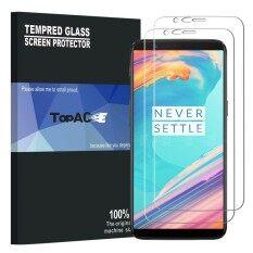 ขาย ซื้อ Oneplus 5T Screen Protector 2 Pack 9H Hardness Premium Tempered Glass Screen Protector For Oneplus 5T 1 5T Intl ใน จีน