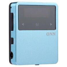 ขาย ซื้อ Onn X1 Super Mini Music Player Bluetooth 4 2 Mp3 Back Clip Radio E Book Record Pedometer Intl