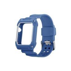 ซื้อ Ontube For Apple Watch Accessory Sport Resilient Protective Case With Strap Bands For Apple Watch Smart Fitness Watch 42Mm Intl Ontube เป็นต้นฉบับ