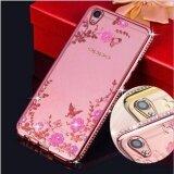 ขาย ซื้อ ออนไลน์ Oppo A37 Luxury Diamond Flowers Secret Garden Soft Tpu Case Intl