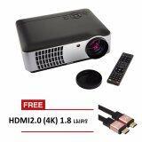ราคา โปรเจคเตอร์ Rd806 Led All In One Multimedia 2800 Lumens สีดำ ฟรี Hdmi V2 4K 1 8 M ออนไลน์ กรุงเทพมหานคร