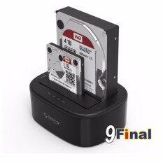 ซื้อ แท่นด๊อกกิ้ง ฮาร์ดดิสถ์ Orico 6228Us3 2 5 3 5 Inch Usb3 Dual Bay Hdd And Ssd Hard Drive Dock Orico ถูก