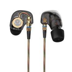 ทบทวน Kz กินหูฟังชนิดใส่ในหูหูฟังไฮไฟหูฟังเพลงสำหรับ Iphone 6 โทรศัพท์มือถือ Mp3 คอมพิวเตอร์ไม่มีไมโครโฟน Kz