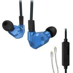 ขาย Original Kz Zs5 2Dd 2Ba Hybrid In Ear Earphone Hifi Dj Monito Running Sport Earphones Earplug Headset Earbud Two Colors With Mic With Silver Upgrade Cable Intl