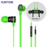 ขาย Original Plextone G20 Gaming Earphone Magnet Wired Sport Earphone In Ear Stereo Noise Cancelling Memory Foam For Computers Phone Intl Plextone ผู้ค้าส่ง