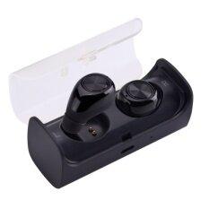 ขาย ซื้อ Original Tws 10 Twins Wireless Sport Running Stereo Bluetooth Headset With Mic Black Intl ใน จีน