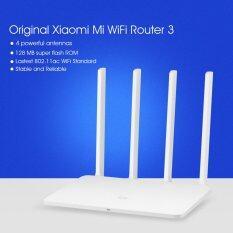 ราคา Original Xiaomi Mi Wifi Router 3 128Mb Rom 1167Mbps 2 4 5Ghz With 4 Antennas White Intl ใหม่ ถูก