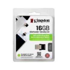 ส่วนลด สินค้า แฟลช์ไดร์ฟแบบ Otg 16Gb Kingston Dtduo3 Micro Usb ของแท้มีประกัน