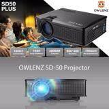 ความคิดเห็น Owlenz Projector Sd50 Plus By Mastersat ความชัด 800X480 ความสว่าง 1500 Lumens รองรับได้มากกว่า 150 นิ้ว
