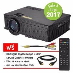 Owlenz Projector Sd50 Plus ฟรีสาย Hdmi 1 4 และสาย Av เป็นต้นฉบับ