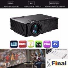 Owlenz Sd50Plus Black By 9Final Oem No Screen Logo Mini Led Projector โปรเจคเตอร์ 800 480 ความสว่าง 1 500 ลูเมน ใน ไทย